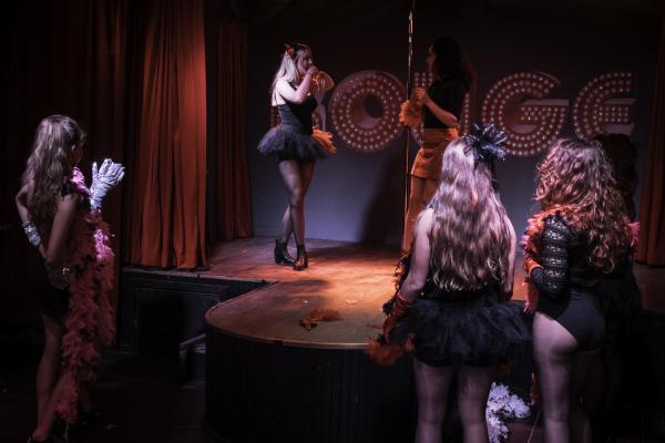 Workshop Burlesque in Brussel